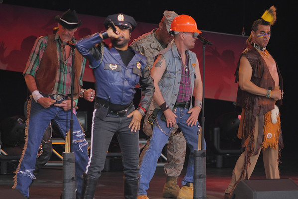 The Village People at Epcot, 2013