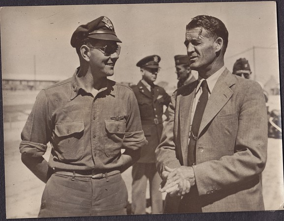 Dad with Congressman Walt Horn of Washington in Europe.